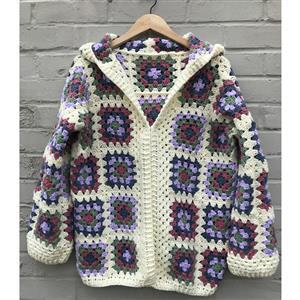 Adventures in Crafting Blossom Adult's Casual Granny Cardie Kit