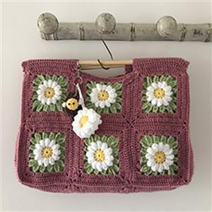 Adventures in Crafting Vintage Rose Daisy Meadow Bag Kit