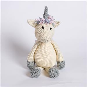 Wool Couture Lucy Unicorn Knitting Kit