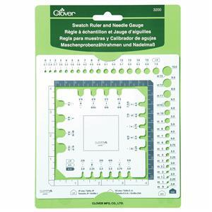 Swatch Ruler and Needle Gauge