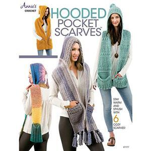 Hooded Pocket Scarves Book by Annie's Crochet