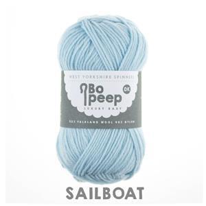 WYS Sailboat Bo Peep Luxury Baby  4 Ply Yarn 100g
