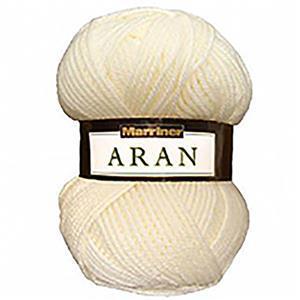 Marriner Cream Aran Yarn 100g