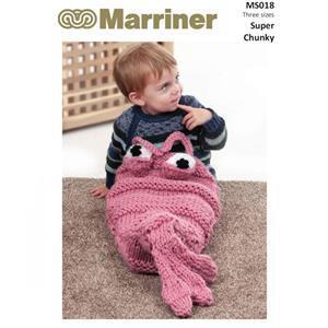 Marriner Shrimp Cocoon  Knitting Pattern