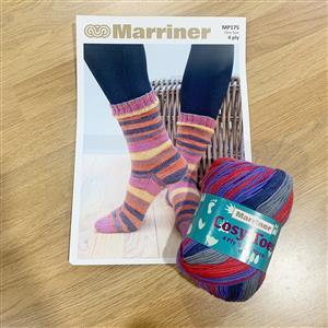 Marriner Parrot Cosy Toes Sock Kit