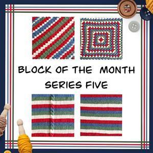 The Crafty Co Crochet Series Five BOM Blanket Kit