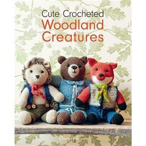Cute Crocheted Woodland Creatures Book by Emma Varnam EXCLUSIVE!