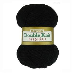 Marriner Black DK Yarn 100g