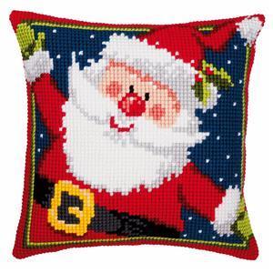 Father Christmas Needlepoint Cushion Kit