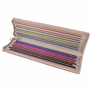Zing Knitting Pins Single-Ended Set 40cm length
