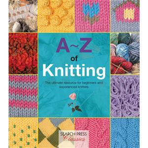 A-Z of Knitting Book by Country Bumpkin SAVE 20%