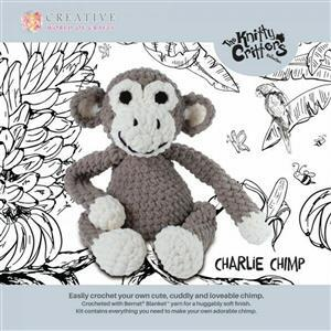 Knitty Critters Charlie Chimp Kit