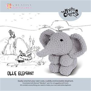 Knitty Critters Ollie Elephant Kit