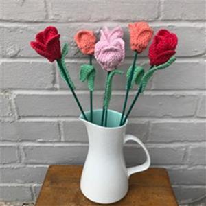 Adventures in Crafting Tulips Bouquet Crochet Kit