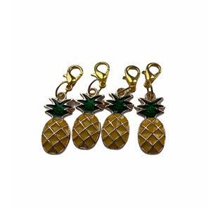 Twink Knits Pineapple Stitch Markers - set of four