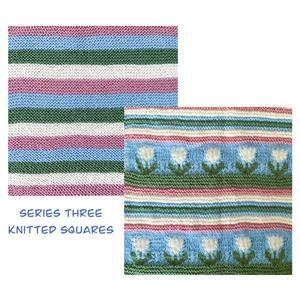 The Crafty Co Knitting Series Three BOM Blanket Kit
