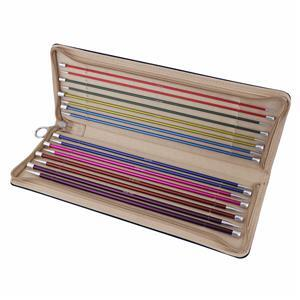Zing Knitting Pins Single-Ended 30cm Set