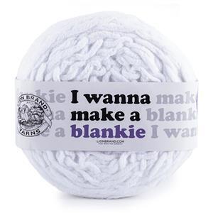 I Wanna Make A Blankie Snow Wool