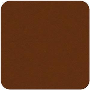 Felt Square in Ginger 22.8x22.8cm (9x9