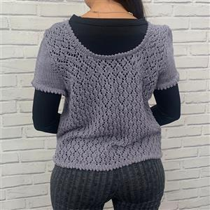 Marriner Silver Grey Lace Back Top Kit