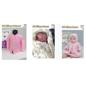 Newborn Baby Patterns: Pack of Three