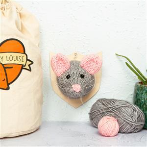 Sincerely Louise Mini Mouse Head Knitting Kit