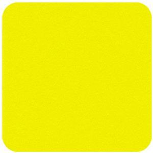 Felt Square in Super Bright Yellow 22.8x22.8cm (9x9
