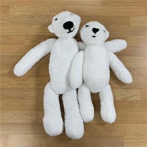 Pair of White Polar Bears Kit