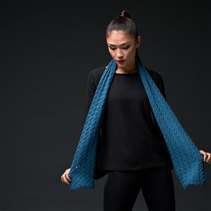 WYS Bayswater Exquisite 4ply Eve Fishtail Scarf Kit