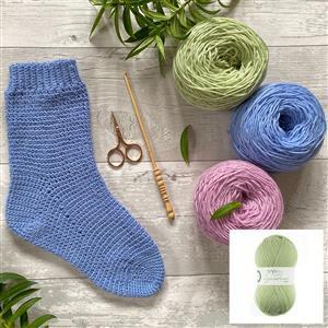 Anna Nikipirowicz Hydrangea Crochet Sock Kit
