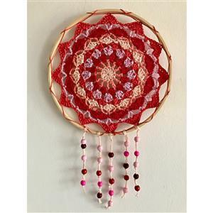 Adventures in Crafting Sunset Pinks Dreamcatcher Kit
