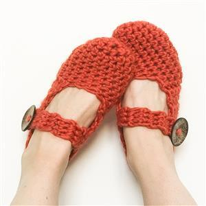 Wool Couture Cinnamon Amy Slippers Kit