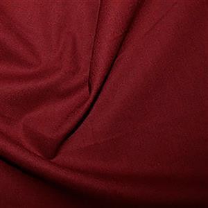 100% Cotton Fabric Claret 0.5m