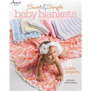 Sweet & Simple Baby Blankets Book by Glenda Winkleman