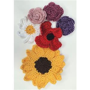 Woolly Chic Crochet Flowers Kit