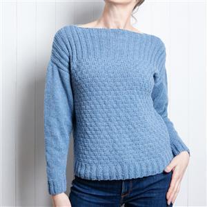Wool Couture River Summer Jumper Knitting Kit: Small/Medium