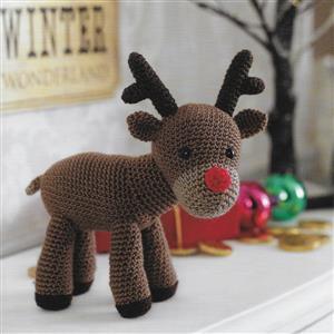 Rudolph Toy Crochet Kit