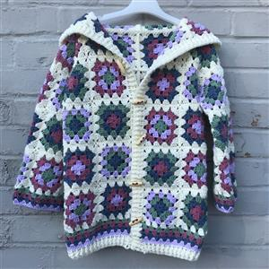 Adventures in Crafting Blossom Children's Casual Granny Cardie Kit
