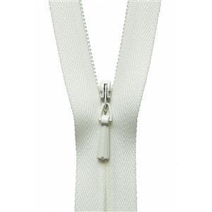 Cream Concealed Zip 23cm