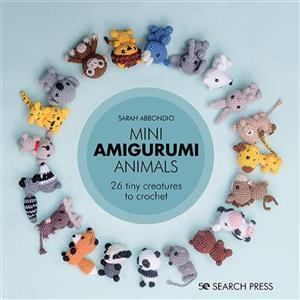 Mini Amigurumi Animals Book by Sarah Abbondio SAVE 20%