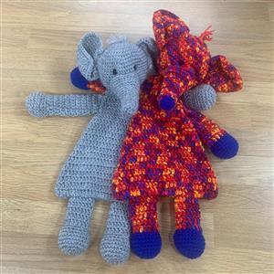 Patons Elephants Flat Toys Crochet Kit