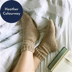 Wool Couture Heather Siesta Socks Knitting Kit