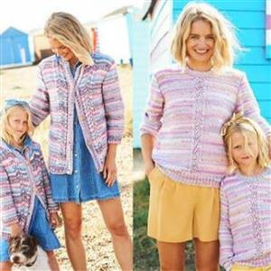 Stylecraft You and Me Jacket Cardigan and Sweater Pattern