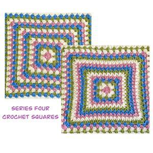 The Crafty Co Crochet Series Four BOM Blanket Kit