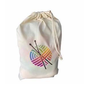 Twink Knits Knitting Cotton Project Bag