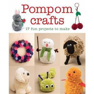 Pom Pom Crafts Booklet By Alison Howard