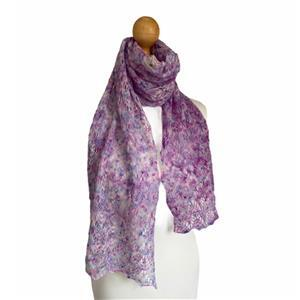 Twink Knits Blackberry Pie Moorlands Laceweight Scarf Kit