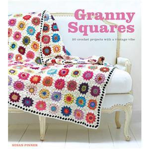 Granny Squares Book by Susan Pinner