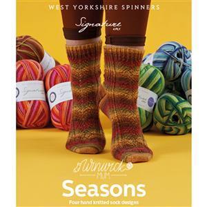 Winwick Mum Seasons Sock Pattern Book