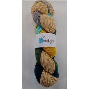 Twink Knits Shades of Lichen DK Yarn 100g